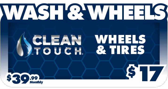 Wash and Wheels - $17 - $39.99/month